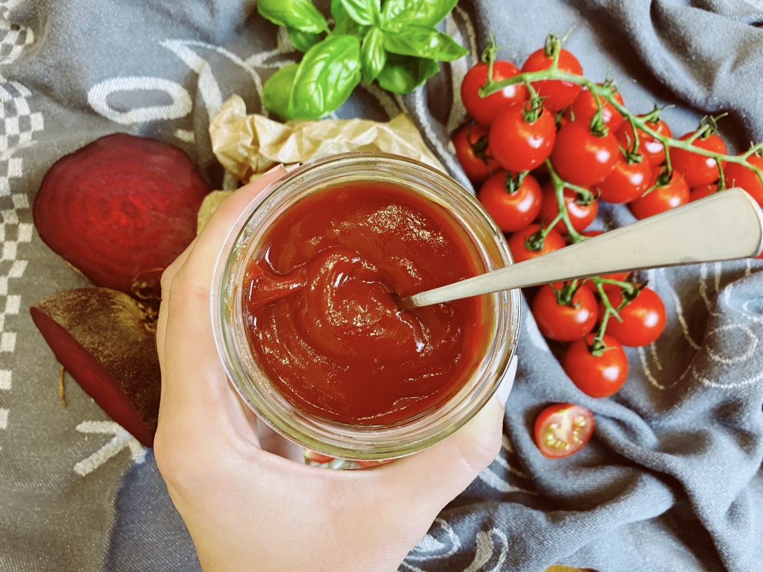 Hustý paradajkový kečup s cviklou