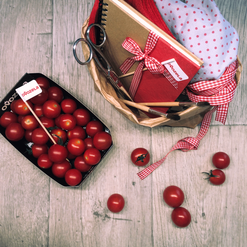 cherry rajčata - Medulienky